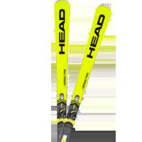 Športové zjazdové lyže