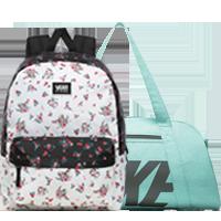Batohy, tašky, ledvinky