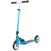 Folding kick scooters
