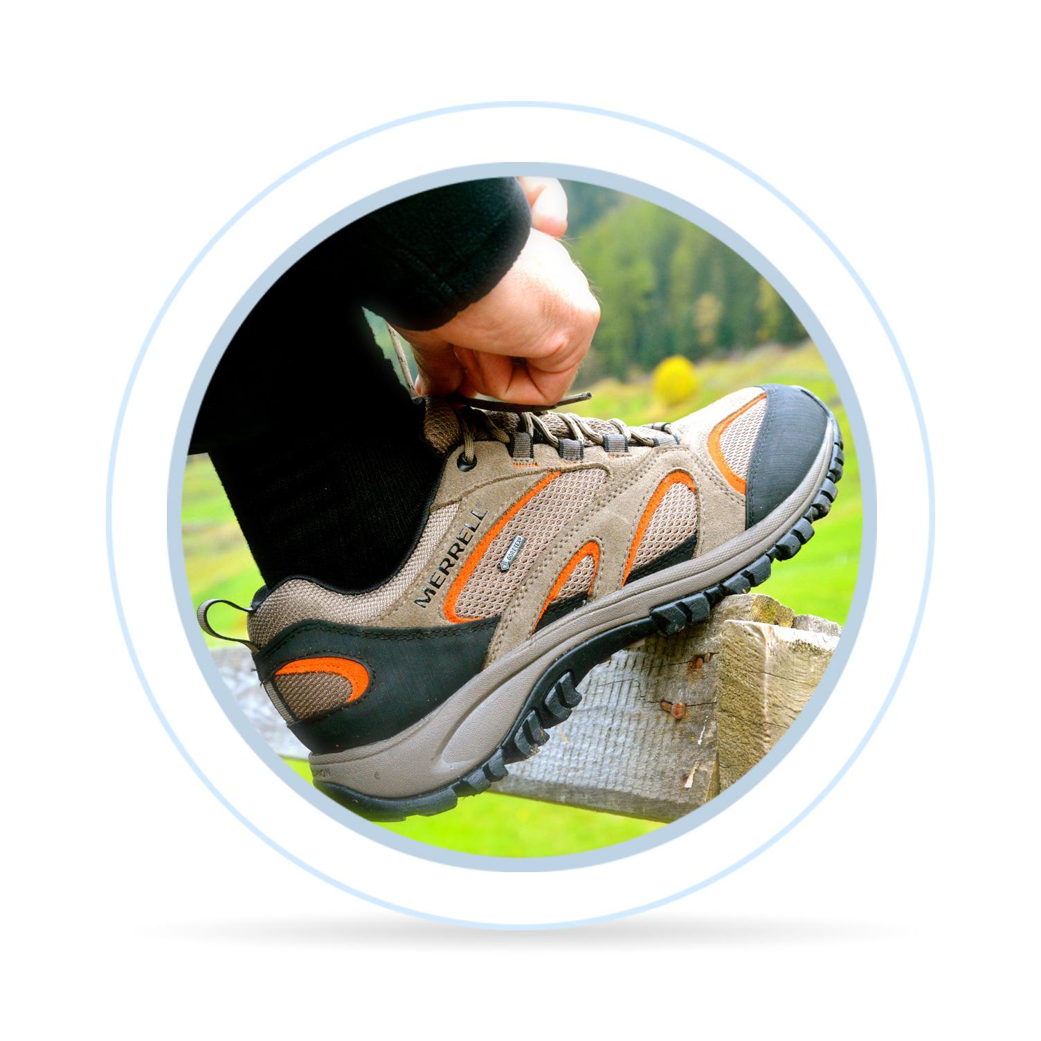 ... do náročných terénů a na vícedenní treky zvolte obuv 936db17f65