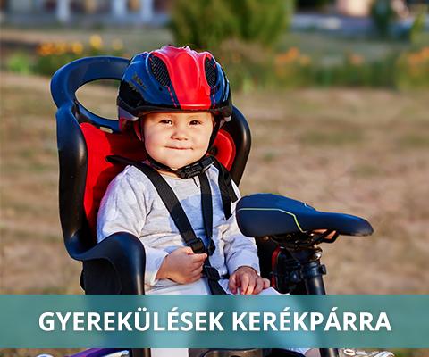 Kerékpáros gyerekülések