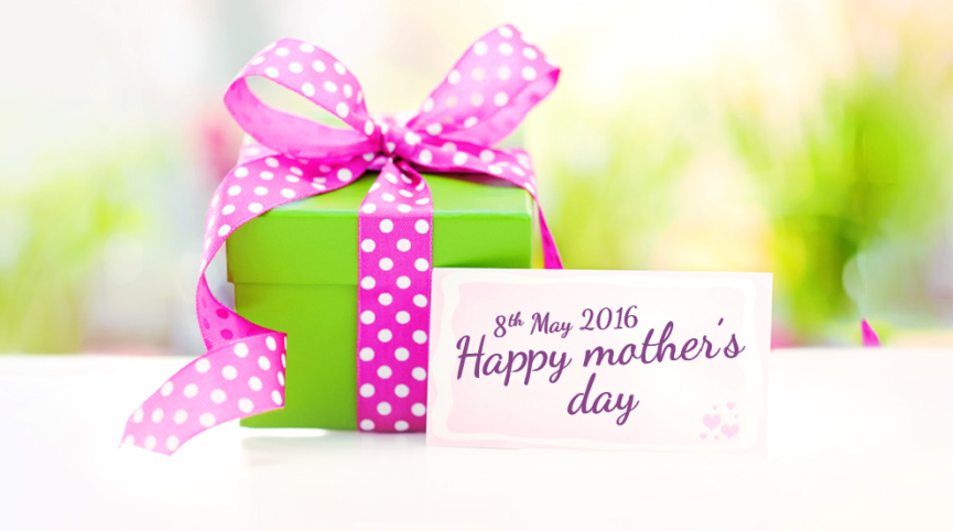 Mother's Day is around the corner!