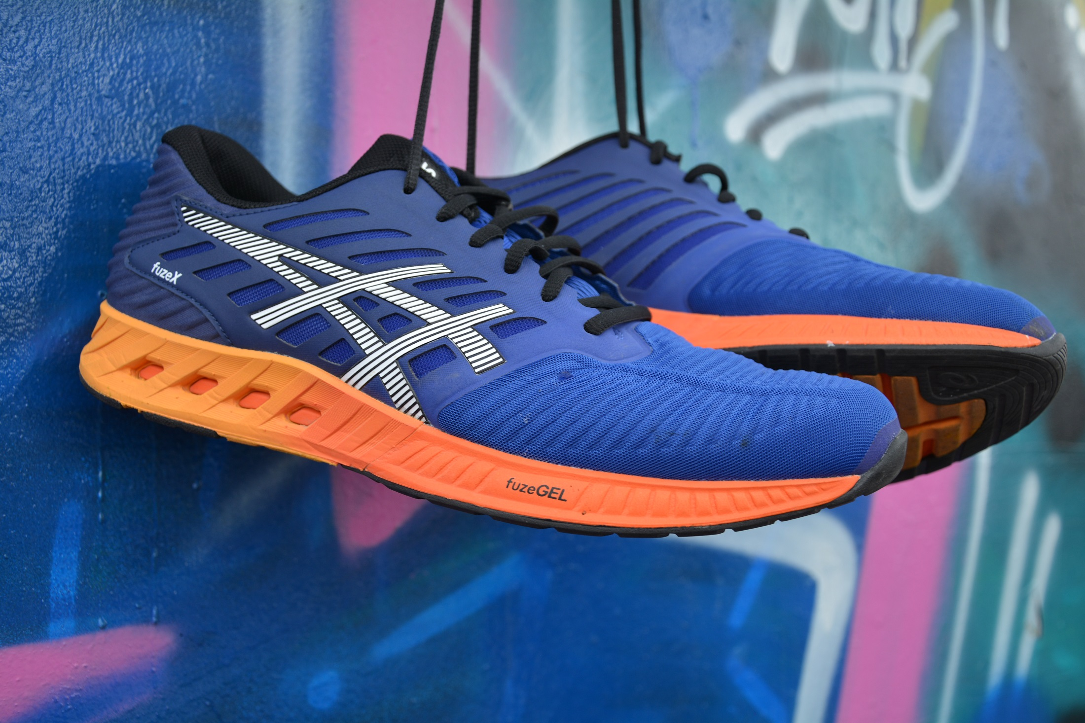 The new Asics FUZE X running shoes are here!