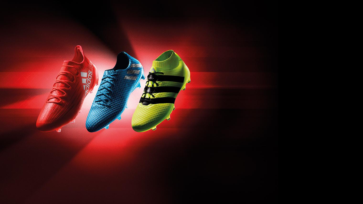 Die neue Kollektion der adidas Speed of light Fußballschuhe!