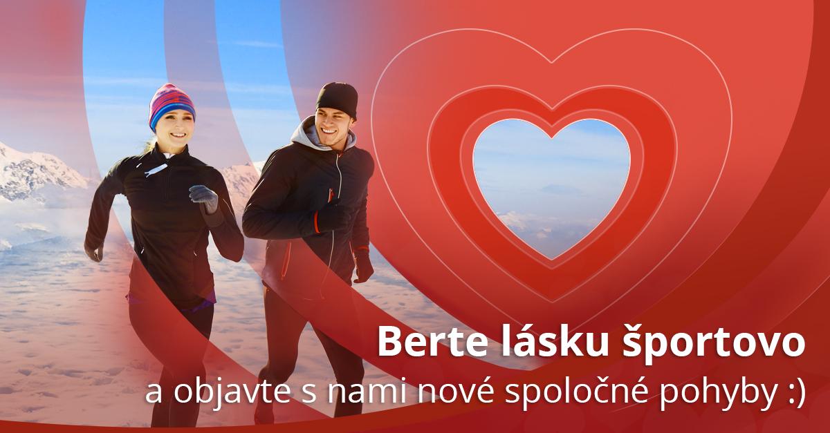 Darujte si tento rok na Valentína spoločný pohyb :-)