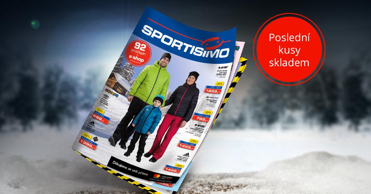 Nový AKČNÍ LETÁK: lyžařina, zimní oblečení a nabídka pro fotbalové týmy