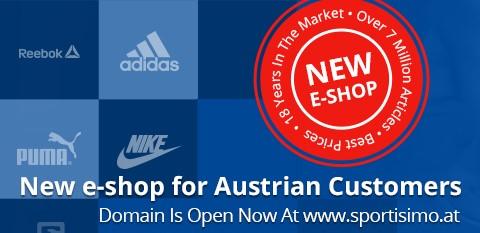 Sportisimo now in AUSTRIA!