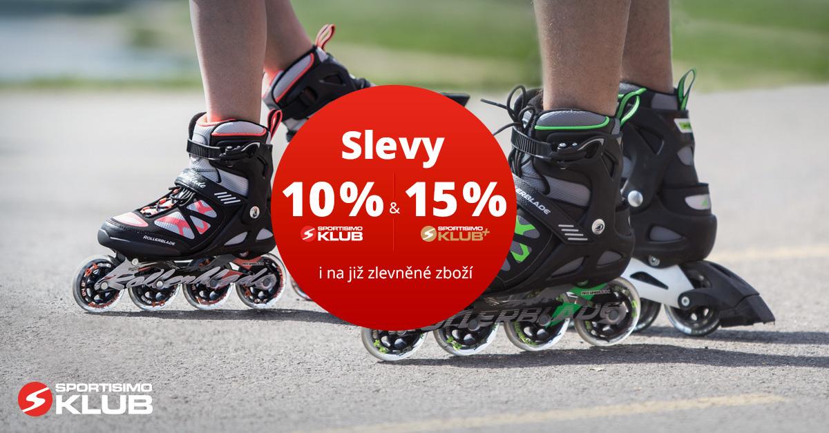 Akce pro členy KLUBU a KLUBU+: Slevy – 10 % / 15 % na INLINE BRUSLE
