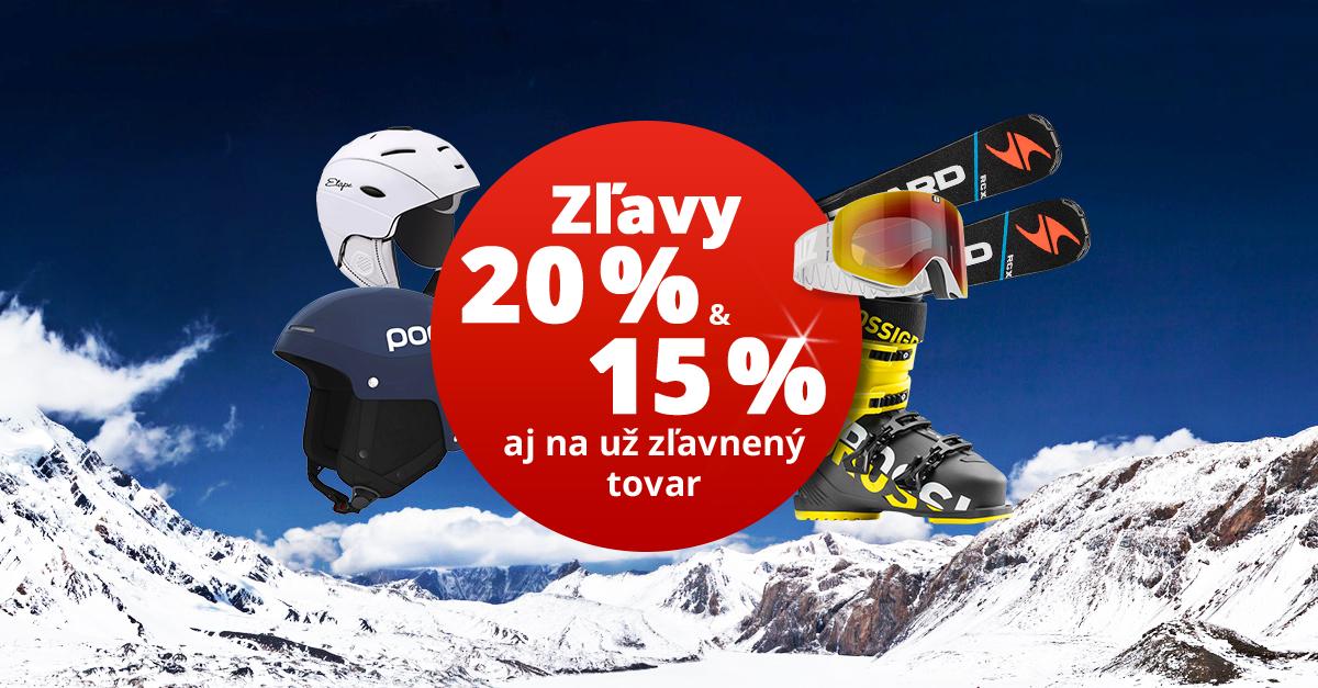 Dni klubu SPORTISIMO: Až 20% zľavy na lyžiarske vybavenie a oblečenie