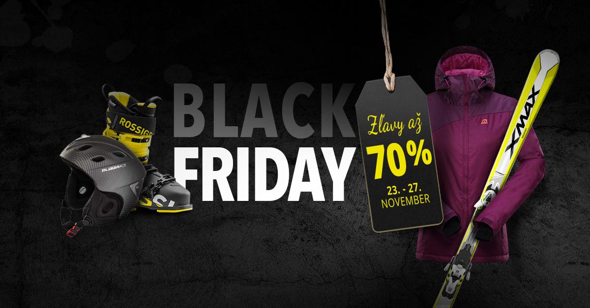 BLACK FRIDAY: 5 dní až 70% ZLIAV u stoviek druhov produktov 23.-27.11.
