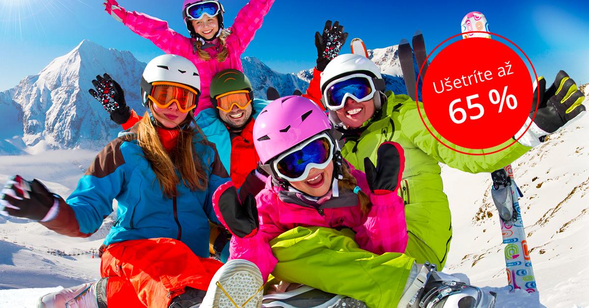 Jarné prázdniny NA SNEHU! Vybavíme Vaše DETI (aj celú rodinu)