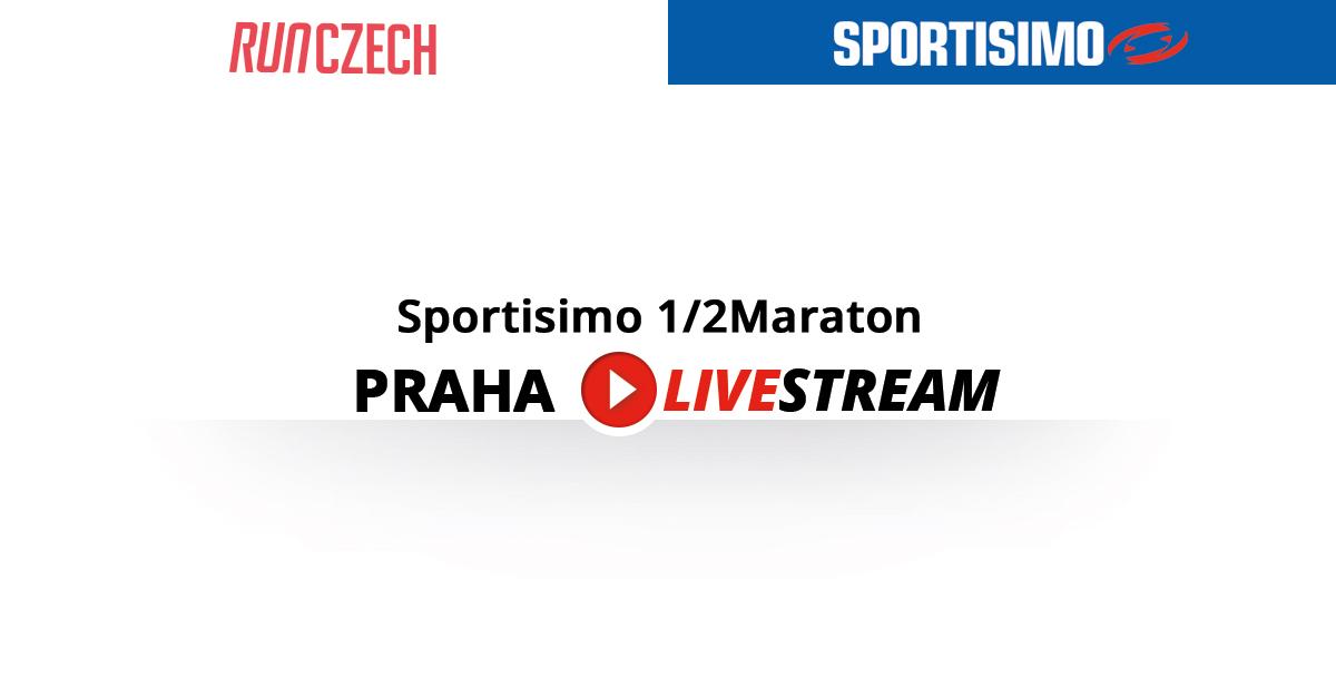 Sportisimo 1/2Maraton Praha už v sobotu 7. 4. – sledujte živě on-line!