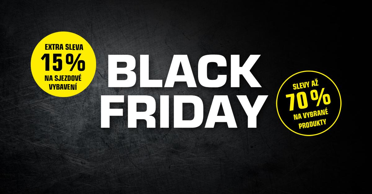BLACK FRIDAY: Užijte si 6 dní super slev!