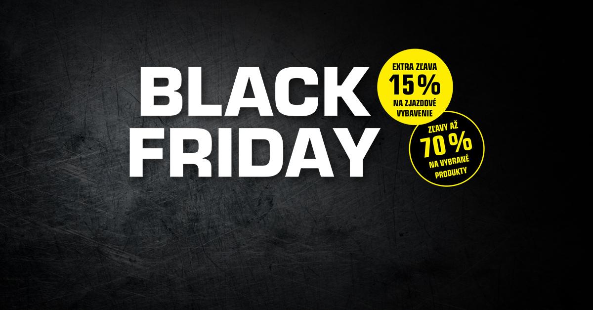 BLACK FRIDAY: Užite si 6 dní super zliav!