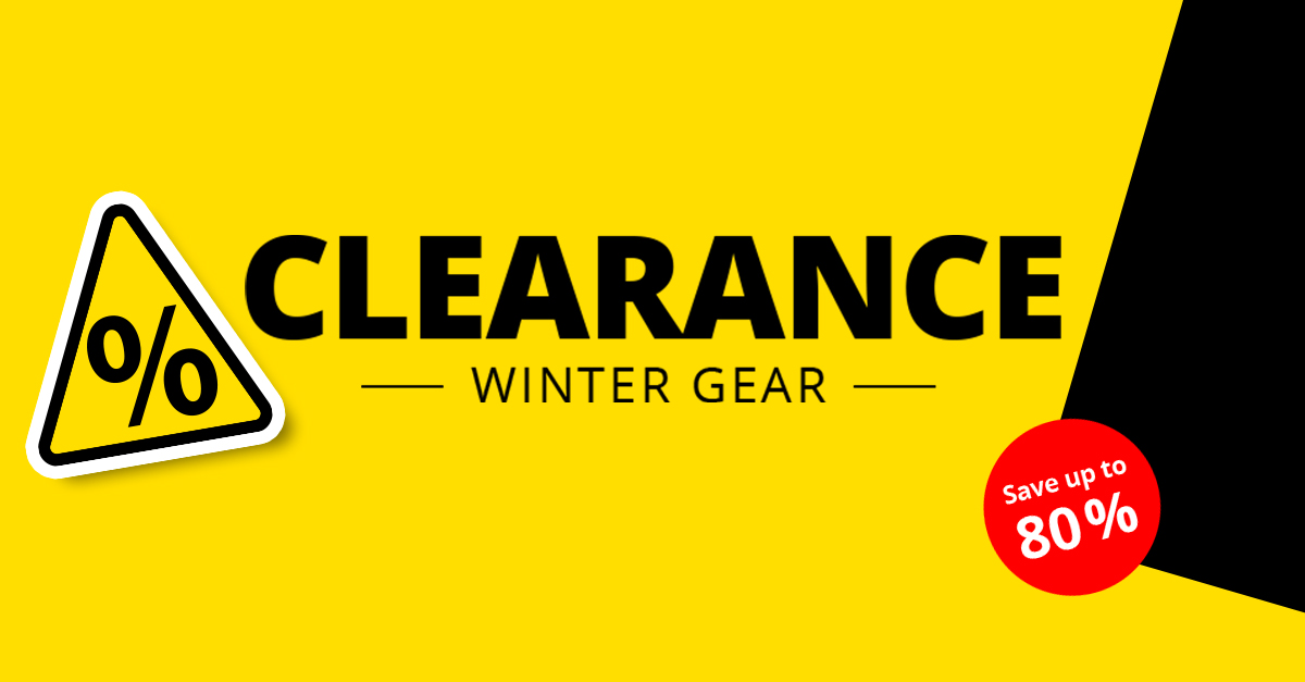 Our Winter Clearance Sale Begins!