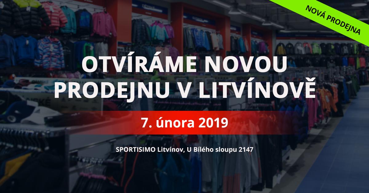 Slevy až  75 % otevřou novou prodejnu v Litvínově U Bílého sloupu