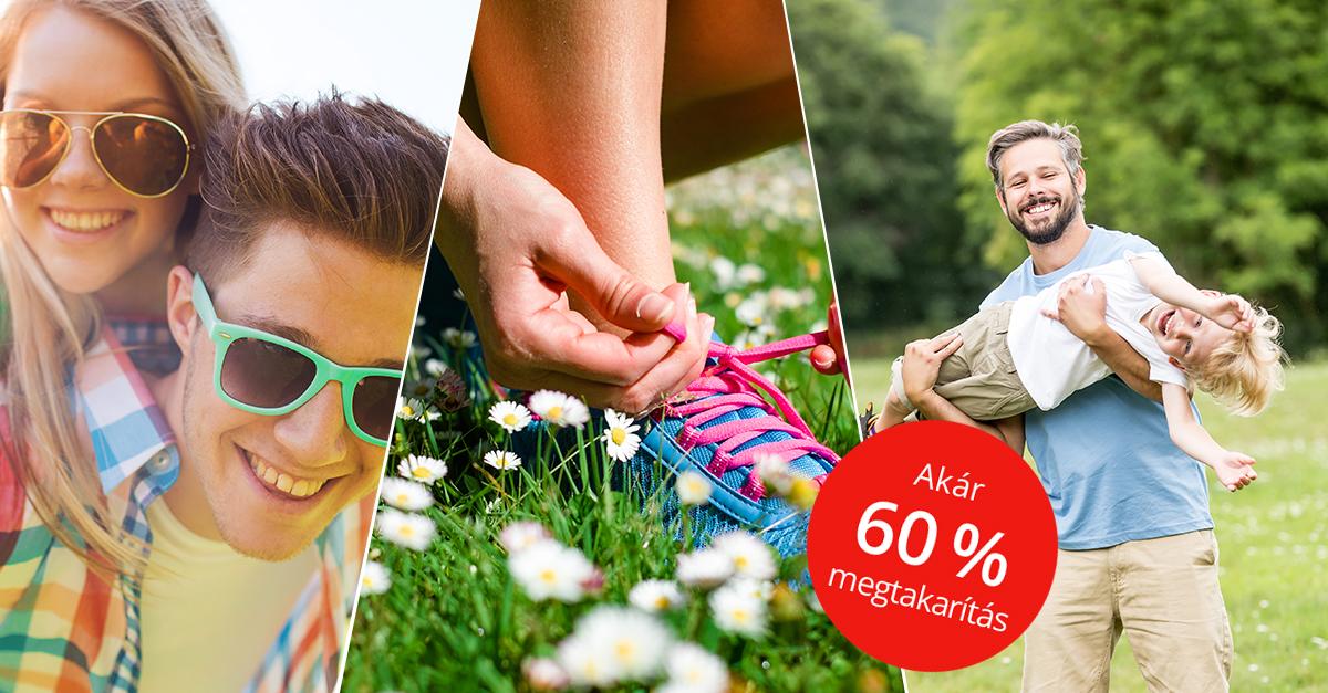 Tavaszi divattippek 60% kedvezménnyel