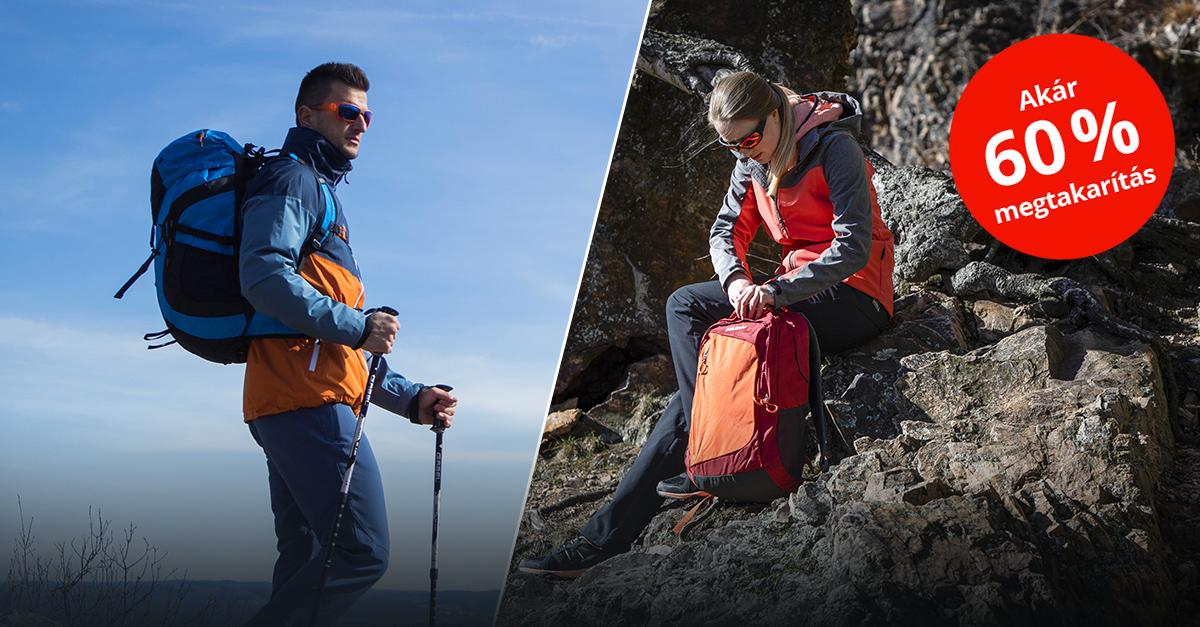 Indulás a hegyekbe a Sportisimo outdoor felszerelésével!