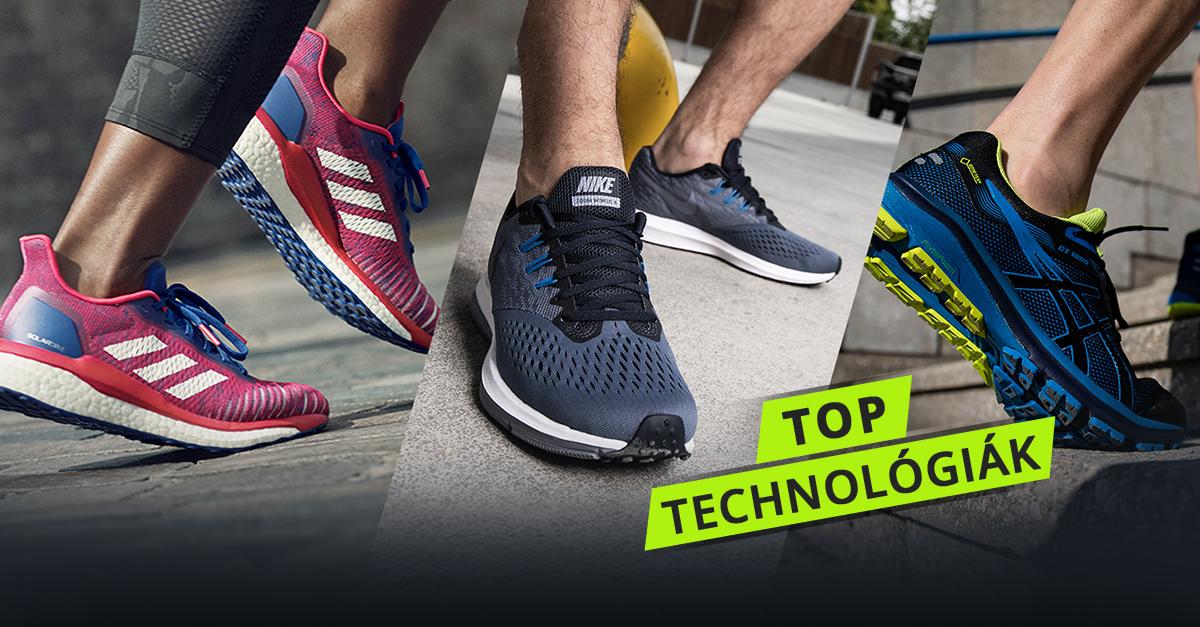 Technológiák, amik a teljesítményedet az égig emelik. Próbáld ki a jövő futócipőit!