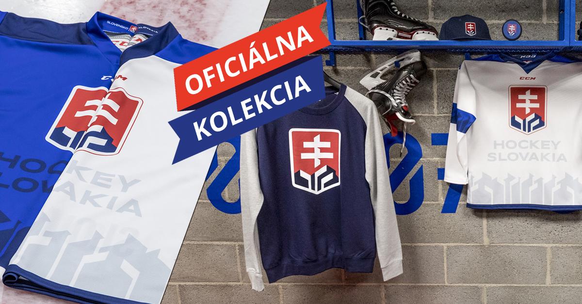 Naši vás potrebujú. Oblečte si oficiálny dres slovenskej hokejovej reprezentácie