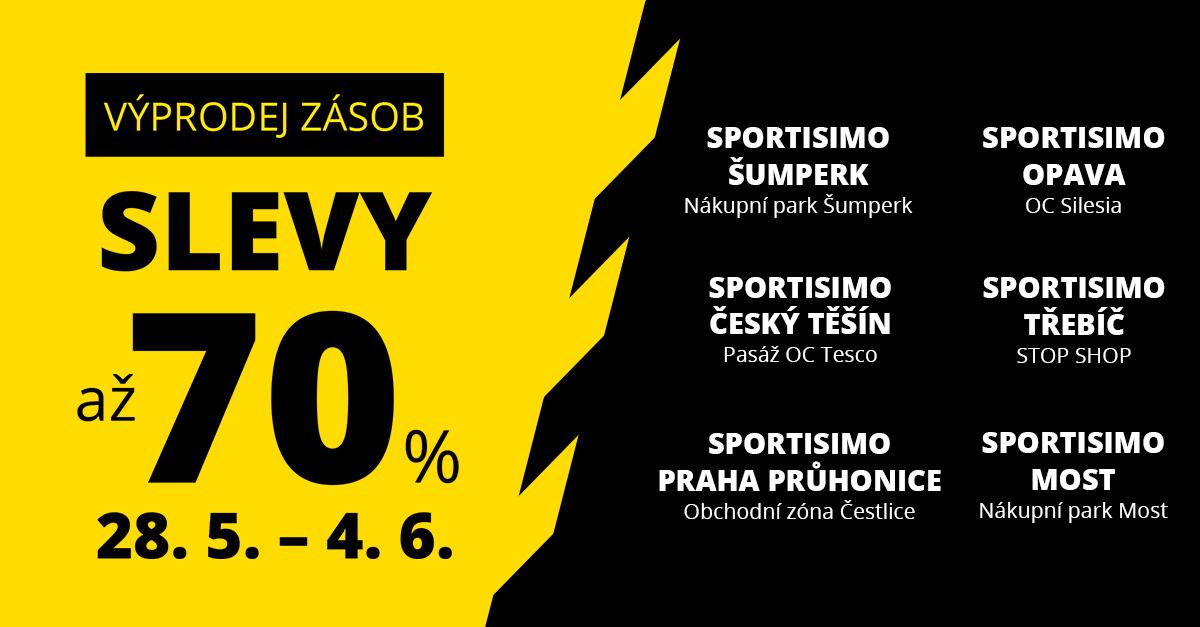 Výprodejové ceny se přeženou přes 6 českých měst. Místy slevy až 70 %