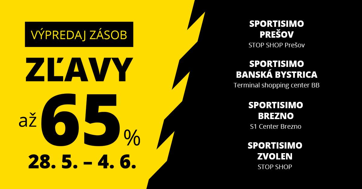 Výpredajové ceny sa preženú cez celé Slovensko. Miestami zľavy až 65 %