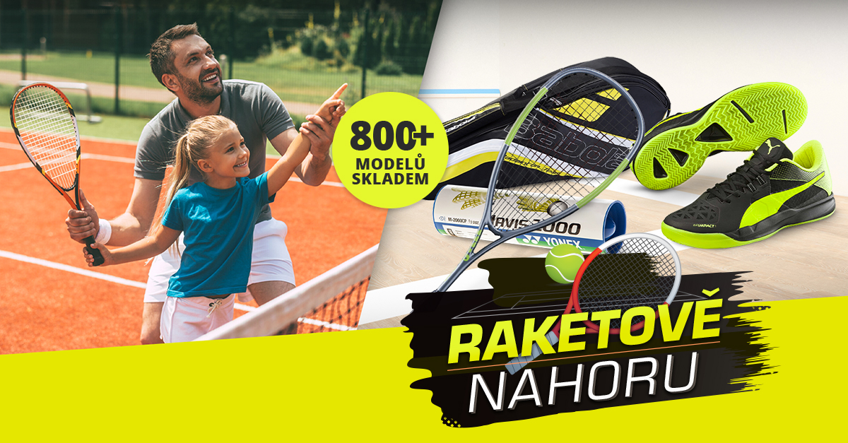 Raketově nahoru: Tenis, squash, badminton