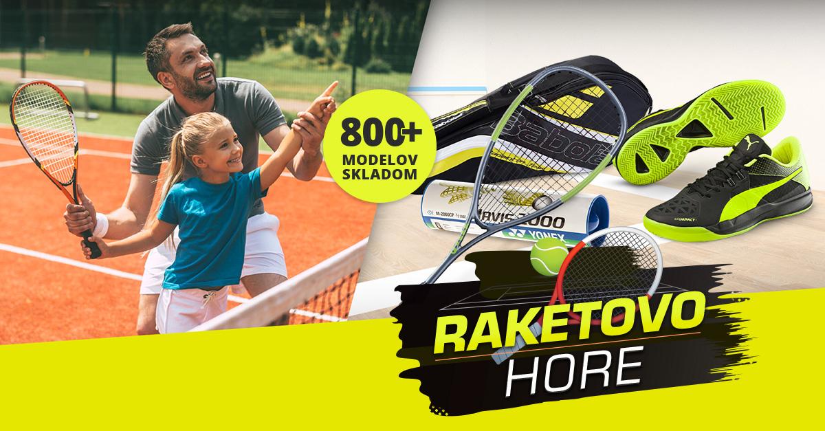 Raketovo hore: Tenis, squash, badminton