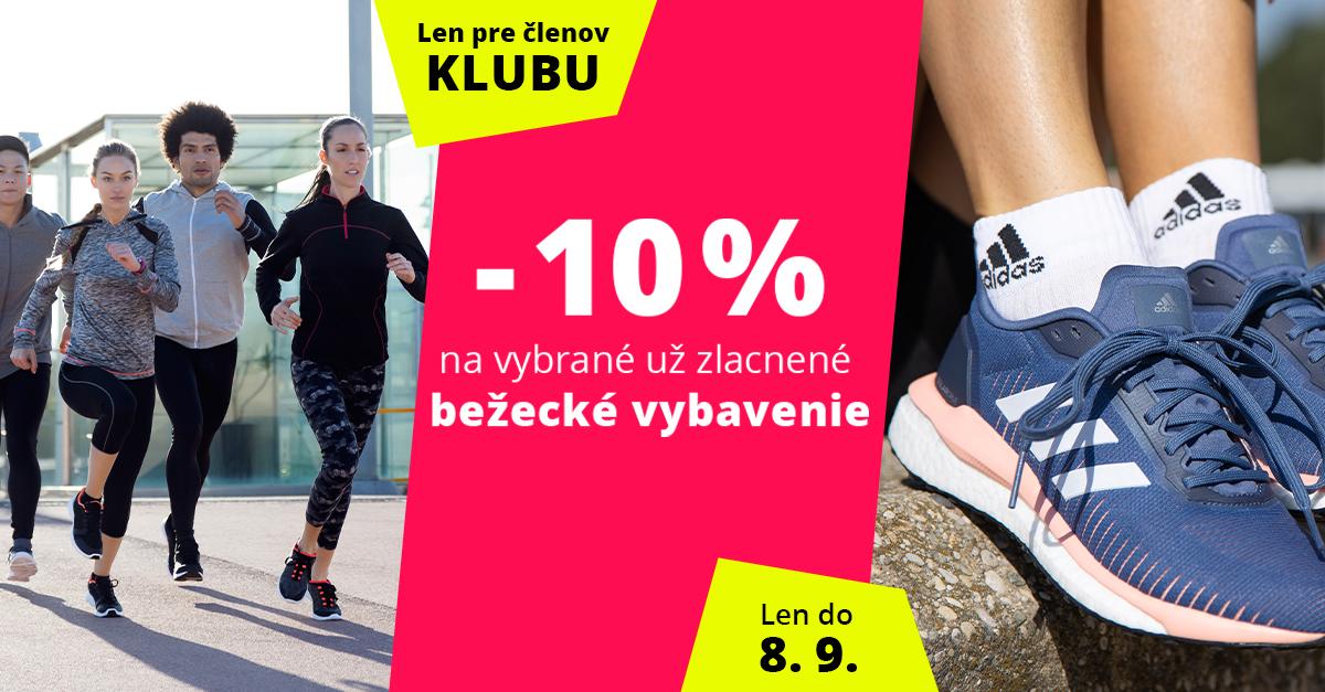 Dni Sportisimo Klubu: Vybraná už zlacnená bežecká výbava o 10% lacnejšie