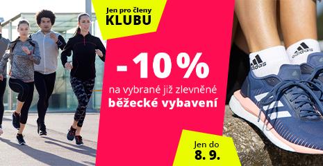 Dny Sportisimo Klubu: Vybraná již zlevněná běžecká výbava o 10 % levněji