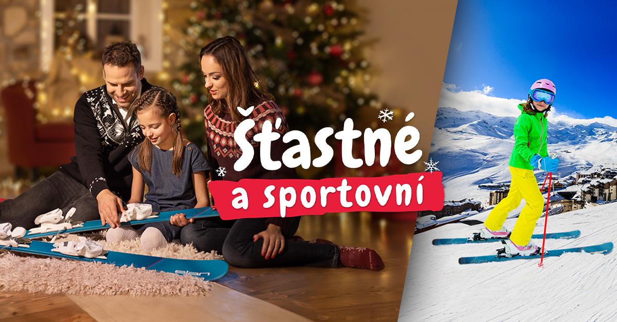 Šťastné a sportovní! Tipy na dárky pro všechny