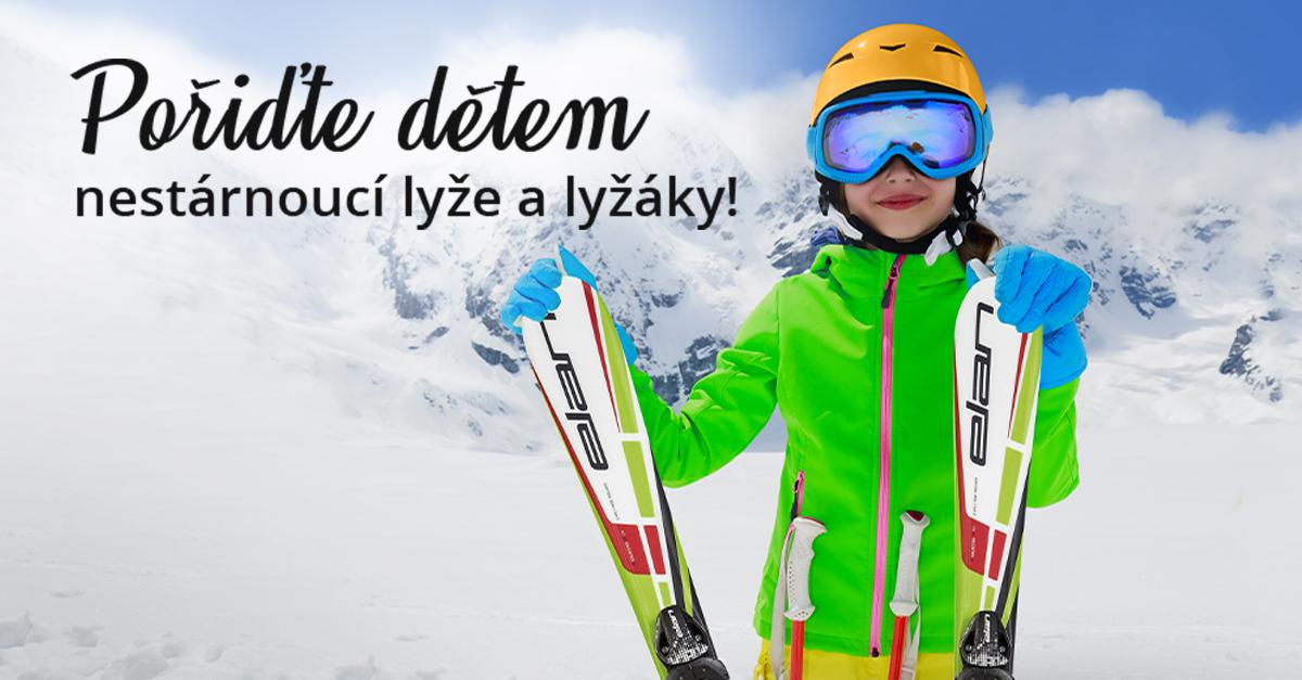 Kupte dětem lyže, které porostou s nimi