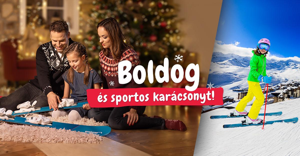 Békés és sportos karácsonyt! Ajándéktippek mindenkinek