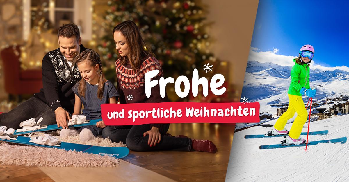 Frohe und sportliche Weihnachten