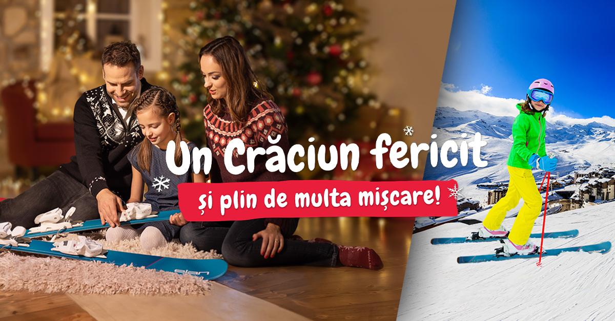 Cumperi cadouri online pe sportisimo.ro? Comandă înainte de 15. 12.