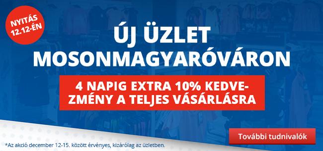 Hallottad már? 12. 12-én megnyitjuk a következő üzletünket Magyarországon!
