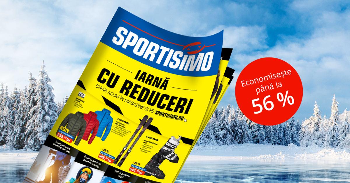 Catalog promoțional: Reduceri speciale de iarnă