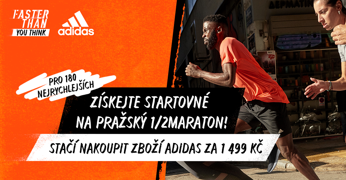 Získejte zdarma registraci na Sportisimo 1/2Maraton v Praze