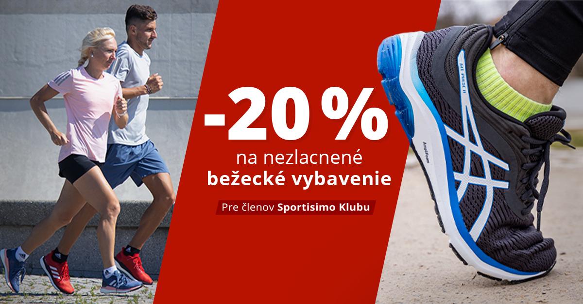 Dni Klubu Sportisimo: Zľava 20 % na bežecké vybavenie!