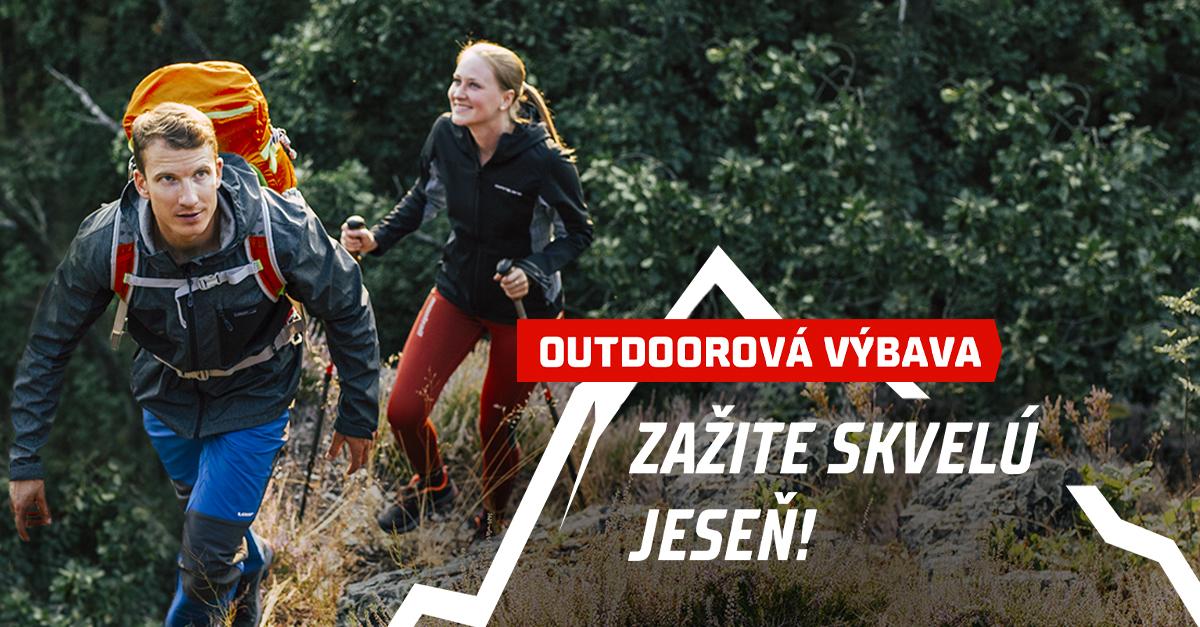 Urobte si outdoorovú jeseň! Zľavy nájdete u topánok, búnd či doplnkov