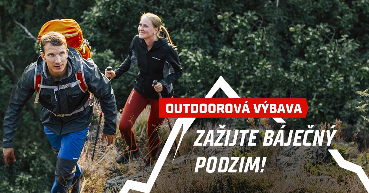 Udělejte si outdoorový podzim! Slevy najdete u bot, bund či doplňků