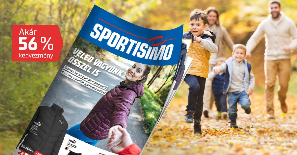 Új akciós újság! Élj az őszi felszerelésre vonatkozó akár 56%-os kedvezménnyel