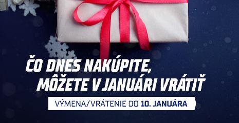 Vianočné darčeky nakúpte bez obáv, v januári ich môžete vrátiť/vymeniť