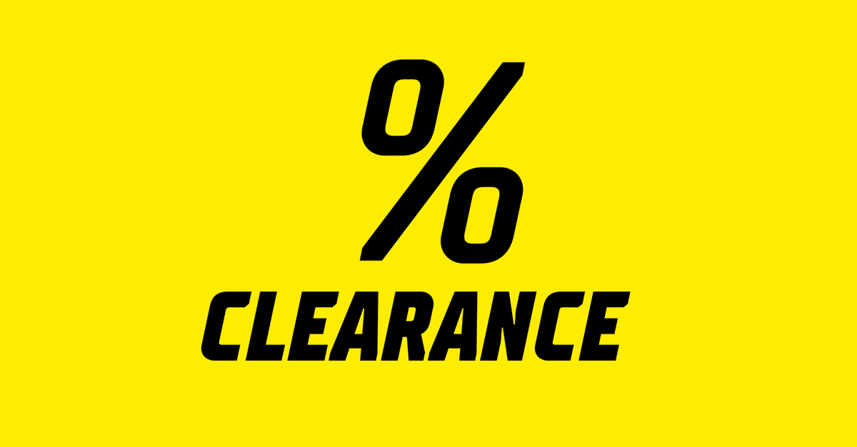 Clearance! Hundreds of products for low prices. Spoil yourself now!