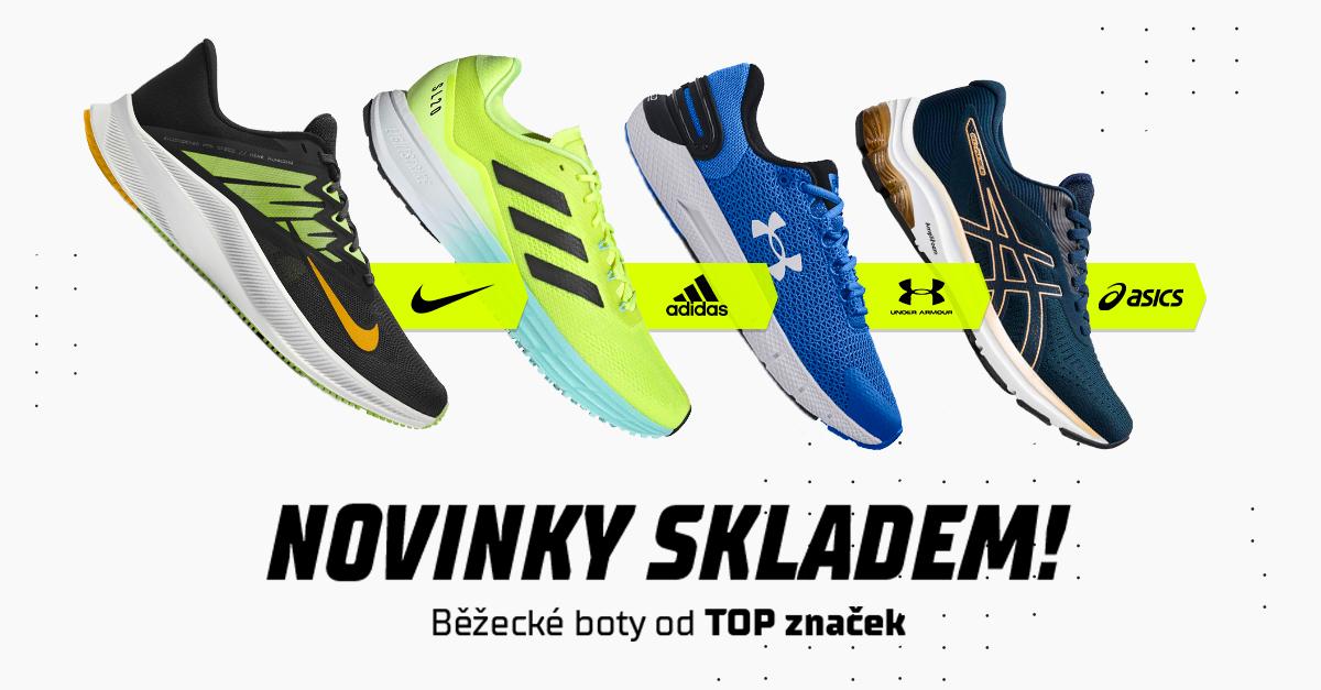 Nové běžecké boty! Proběhněte se s technologiemi od TOP značek