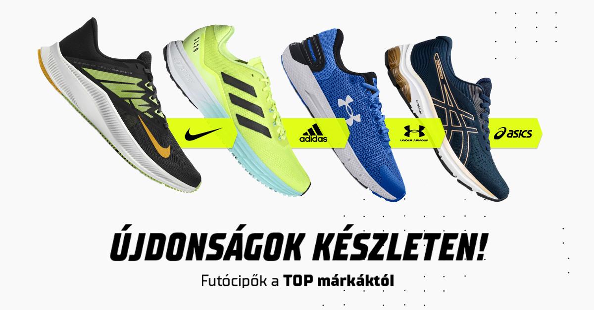 Új futócipők! Fuss a TOP márkák technológiáival