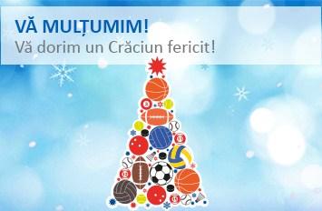 VĂ MULȚUMIM! Vă dorim un Crăciun fericit!
