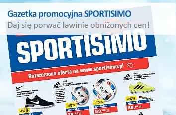 Gazetka promocyjna SPORTISIMO 03/2016 - daj się porwać lawinie obniżonych cen!