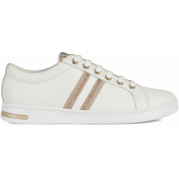 Geox D JAYSEN bílá 36 - Dámská volnočasová obuv