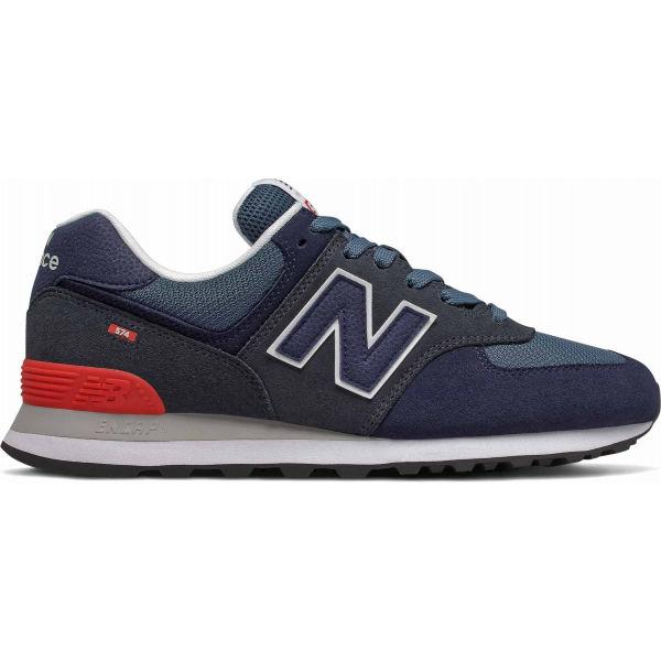 New Balance ML574EAE tmavě modrá 8 - Pánská volnočasová obuv